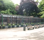 Aviary in Nottingham Park