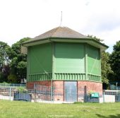 Nottingham park band stand