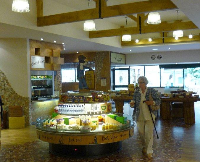 garden centres. barton grange preston. cafe interior.