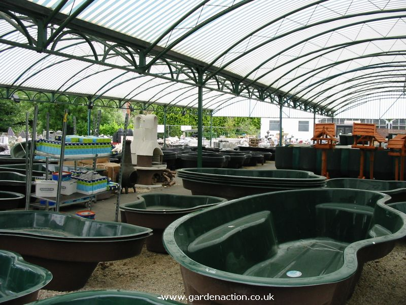 Blagdon water garden centre in bristol for Outside fish pond