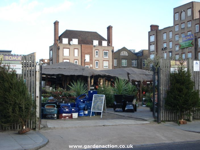 Garden Centre: The Boma Garden Centre, London