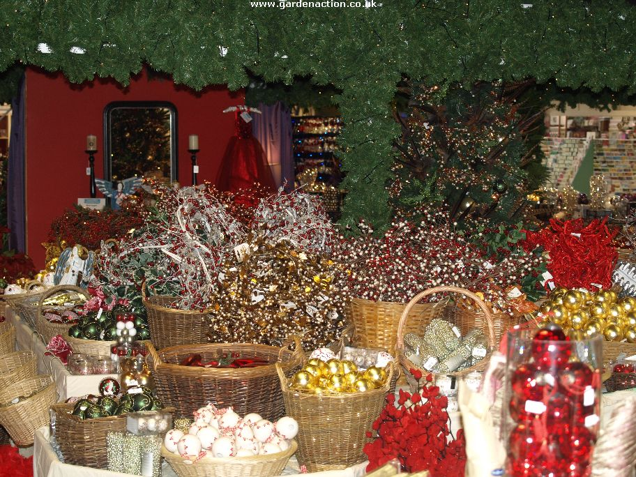 Bruford Garden Centre Christmas Shopping