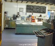 Cafe serving area at Dobbies Cumbernauld