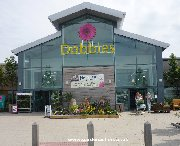 The main entrance to Dobbies garden centre in Dunfermline