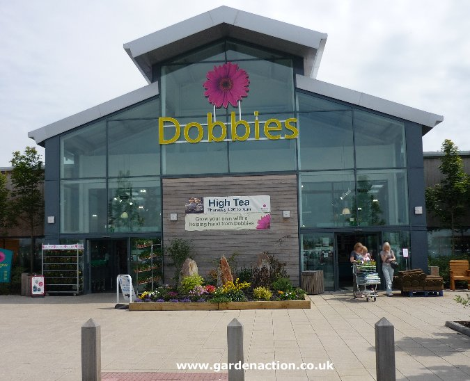Garden Centre: Dobbies Garden Centre At Dunfermline