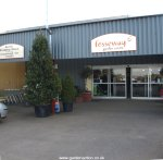 Entrance to Fosseway Garden Centre
