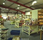 Indoor sales area at Fosseway