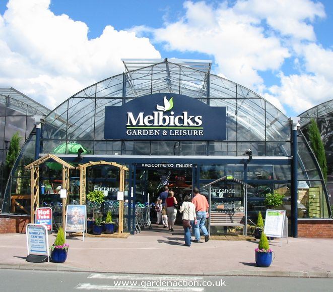 Garden Centre: Melbicks Garden Centre Christmas Shopping