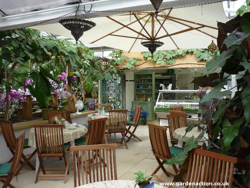 Newham nurseries in oxfordshire for Garden cafe designs