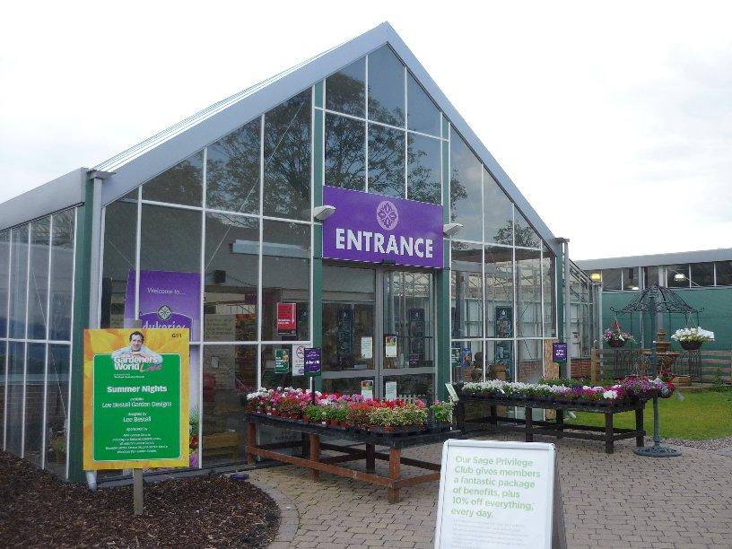 Garden Centre: The Notcutts Dukeries Garden Centre, Nottinghamshire