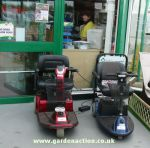 Wheel chairs for the disabled at this garden centre