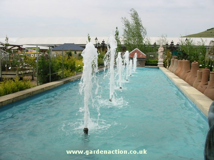 Sanders garden world burnham on sea somerset for Garden centre pool in wharfedale