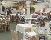 Cafe at Trowell Garden centre