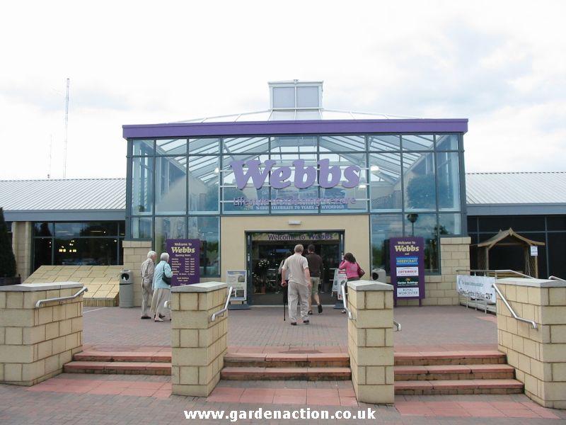 Garden Centre: Webbs Garden Centre, Worcestershire