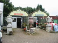 Entrance to Willowpool garden centre and antiques