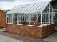 Brick based greenhouse. Click to enlarge. Copyright David Marks