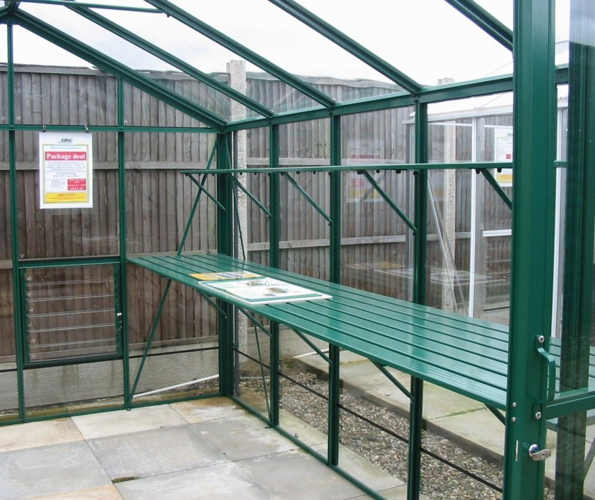 GardenAction.co.uk - Select Greenhouse Staging