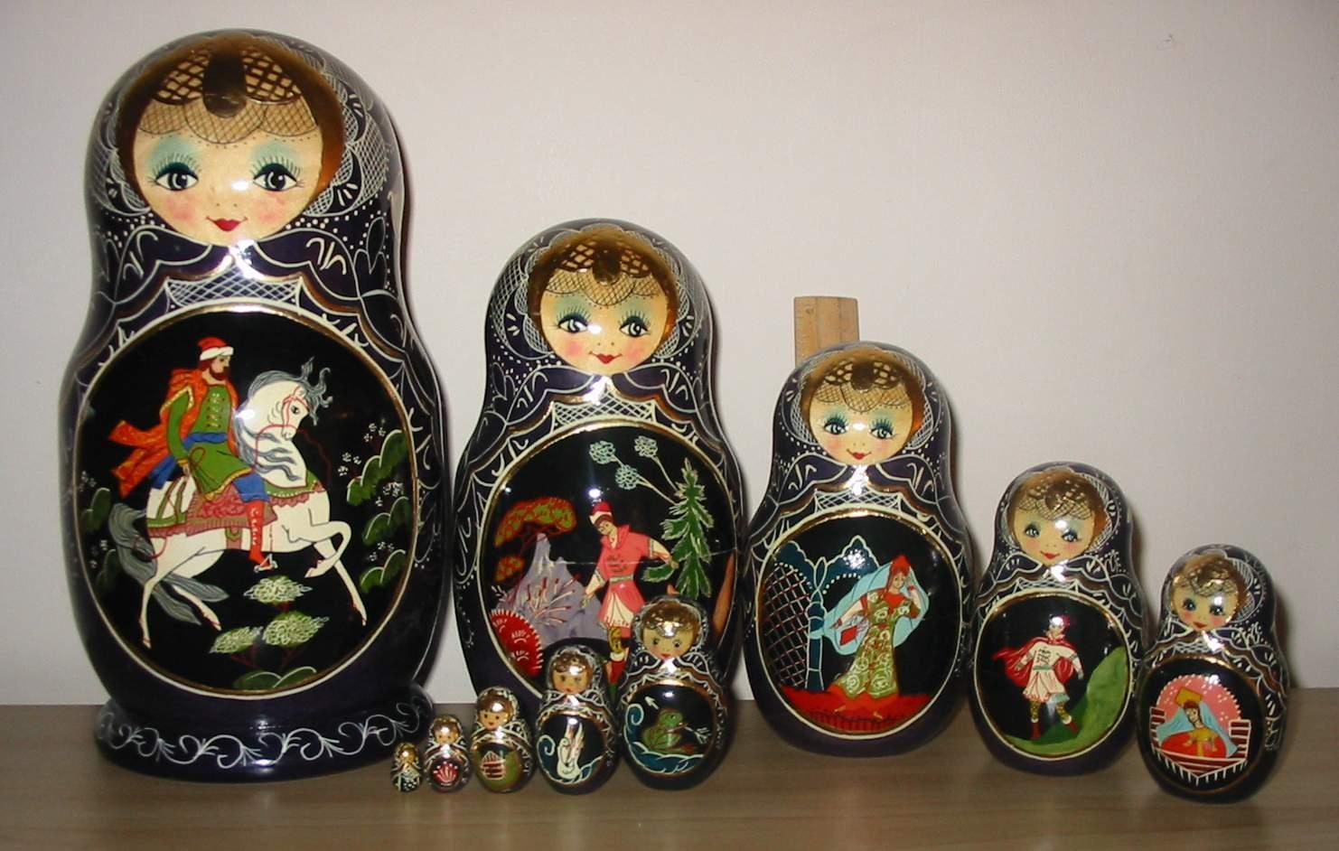 matrioshka las tradicionales mu ecas rusas taringa