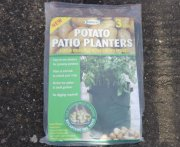 Packaged potato planters